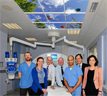 Tallaght Hospital in Dublin features a Luminous SkyCeiling