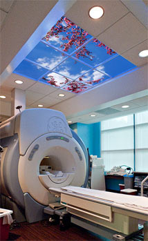 Baylor Diagnostic Imaging Center at Junius features a Luminous SkyCeiling