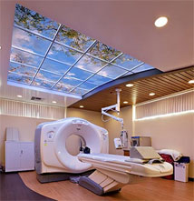 Sutter Diagnostic Imaging features a Luminous SkyCeiling above their CT